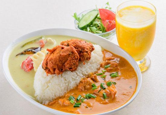 サイノ アジアンキッチン2種類カレーライスセット