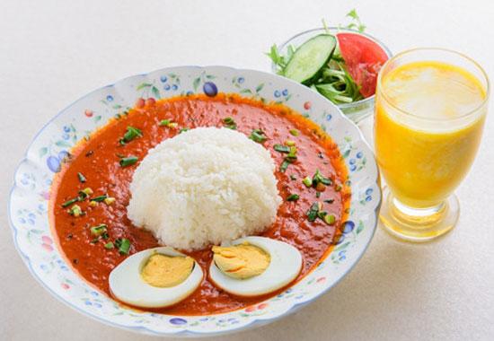 サイノ アジアンキッチンキーマエッグカレーセット