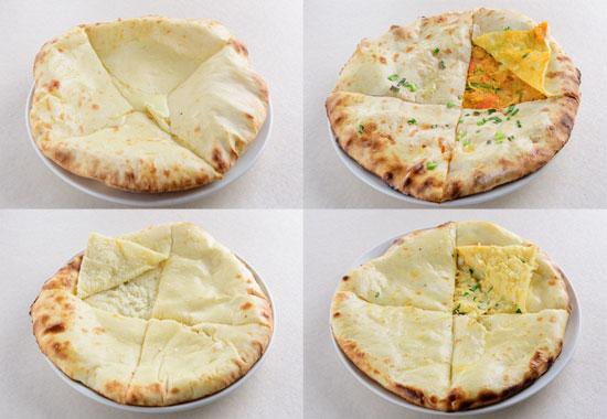 サイノ アジアンキッチンチーズナン・マサラナン・ココナッツナン・サイノスペシャルナン