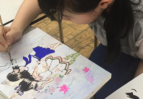 ASAKAアートスクール中高生クラス