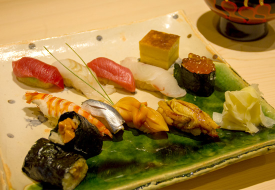 鮨はとり握り寿司