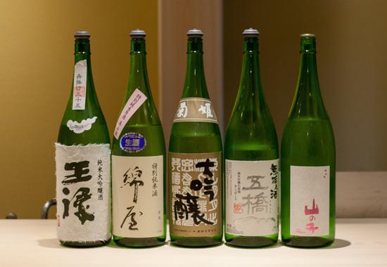 鮨はとり日本酒