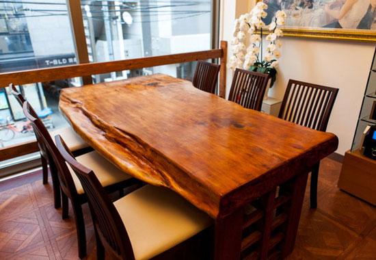 フレンチレストランFleurテーブル席